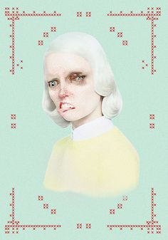 merve-morkoc #illustration #girl