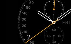 Apple Watch GUI Design #watch #face #apple