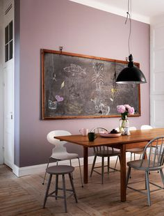 j ingerstadt photography pink dining room #interior #design #decor #deco #decoration