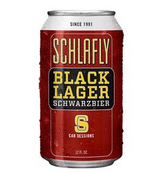 Schlafly Session Black Can #packaging #beer #can #label
