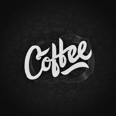 Coffee #handlettering#typography