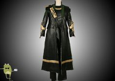 The Avengers Loki Cospaly Costume for Sale