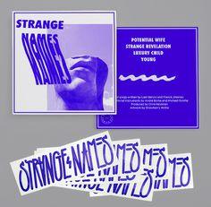 Strange Names #ep #album #branding #stickers #logo