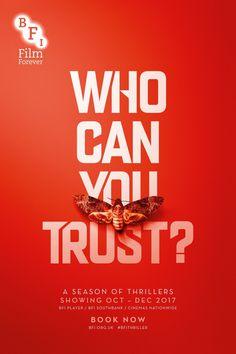 BFI Thriller Season – Creative Advertising