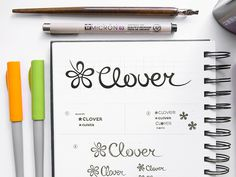 Clover Logo Design by http://ramotion.com
