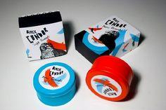 Black Condor Pomade - kevincraftdesign #packaging #design #pomade #condor #package #typography