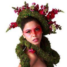 METAMORPHOSIS OF XOCHIQUETZAL (goddess of flowers) on the Behance Network #styling #digital #photography #fashion #flowers