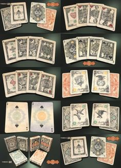 Federal 52 - A NEW Bicycle Playing Card Deck designed by Jackson Robinson inspired by US bank notes and currency.