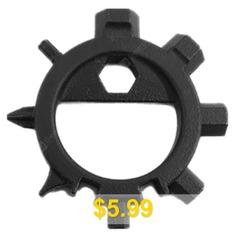 EDC #Octopus #Multi-tool #Screwdriver #Keychain #- #BLACK