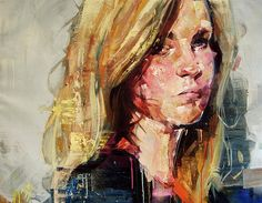 CJWHO ™ (Portraits (2013) by Andrew Salgado ANDREW...) #amazing #salgado #illustration #fav #painting #art #andrew