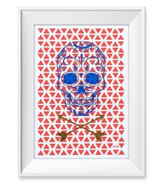 Mexico Limited Poster print #Poster #goldfoil #foil #posterdesign #skulls #skull