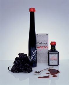 Carluccio's Balsamic Vinegar range | Irving #packaging #beautiful #balsamic