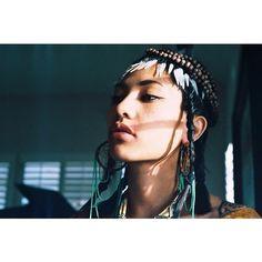 accdfe809ea511e38f7312f452da4cc0_8.jpg (640×640) #shadows #woman #tribal #american #native