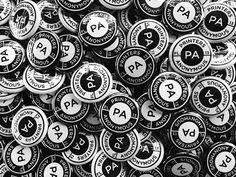 Printers Anonymous Pins #pins #buttons #logo #badge #design #print #pins #buttons #logo #badge #design #print