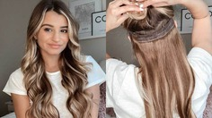 Use clip-in hair extensions
