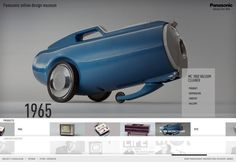 Panasonic Design Museum Nicki Mayrhofer / Portfolio #web design