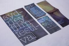 Sydney Film Festival on Behance