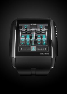 HD3 Slyde HD3 Slyde watch picture – Geek&Hype #product #industrial #design #watch