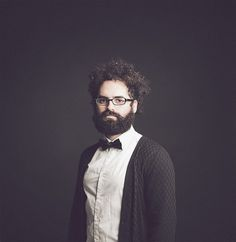 Portrait Photography by Flickr-photographer jadiezlo I Art Sponge #photography #portrait #beard #flickr #man