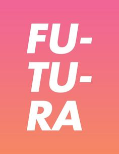 Type Futura /