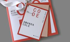 Here Lives Amanda Amanda Cole Melbourne based Freelance Graphic Designer and Illustrator #banner #branding #print #book #clean #melbourne #mono #schedule #lanyard #helvetica #booklet #conference