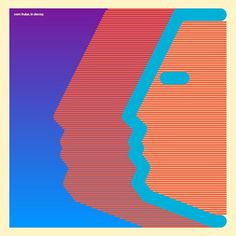 Com Truise #album #vector #lines #pattern #truise #com #gradient #colour