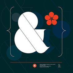 FFFFOUND!   Ogaki typeface on the Behance Network #ampersand #ogaki
