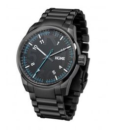 R-CLASS AFTER DARK BLACK - hOme watches and more #steel #swiss #cyan #replica #home #black #watch #typo