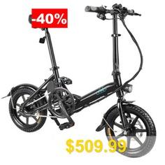 FIIDO #D3 #D3S #Electric #Moped #Bike #City #Bike #Three #Riding #Modes