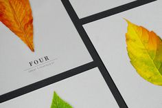 Matthew Hancock / Four Great Titchfield Street #logotype #leaf #design #graphic #marque #brand #identity #logo