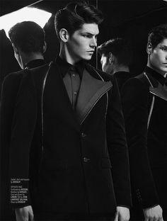 Sam Way for August Man #fashion #model #editorial