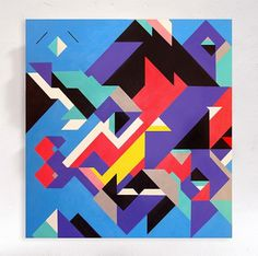 CANVASES - Sergey Sbss #geometry #sbss #shapes #colors #canvas