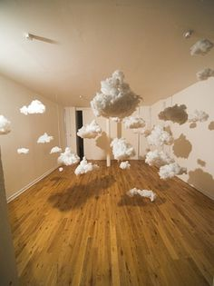(3) Tumblr #cloud #art #instalation