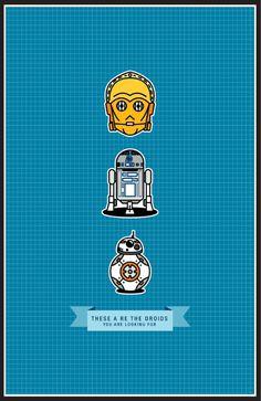#Driods #BB8 #BB-8 #R2D2 #R2-D2 #C3PO #C3-PO #StarWars