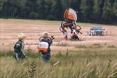 Simon Stålenhag Art Gallery #simon #illustration #sweden #stlenhag