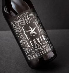 Lervig 10th Anniversary #packaging #beer #label #bottle