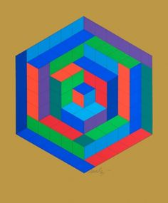 victor vasarely - victor vasarely original signed prints for sale #op #screenprint #victor #grid #art #vasarely