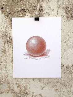 Sphere - 8 x 10 Mini Poster
