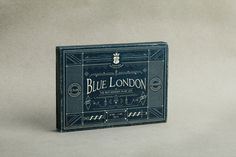 Blue London by Fundamental, #packaging #branding