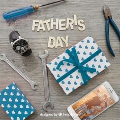 Father's day lettering, gift boxes, smartphone, watch and tools Free Psd. See more inspiration related to Mockup, Love, Gift, Family, Box, Clock, Gift box, Mobile, Celebration, Happy, Gift card, Glasses, Smartphone, Present, Mock up, Tools, Watch, Father, Fathers day, Celebrate, Happy family, Lettering, Dad, Boxes, Parents, Wrench, Up, Day, Lovely, Greeting, Male, Objects, Daddy, Things, Composition, Mock, Fathers, Pliers, June, Masculine, Familiar and Nineteen on Freepik.