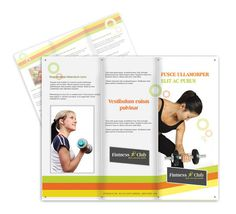 Yoga and Fitnesh brochure design #brochures #designs
