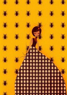 Insekta 2.5 on Illustration Served #insect #illustration #insekta #fashion #grossi #cristian