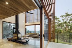 Wooden facade brings warmth and naturalness: Invermay House