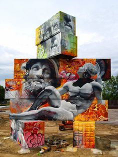 Pichi & Avo | PICDIT #art #graffiti #spray #paint #street