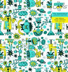 natewilliams_chemicools_02 #chemicools #design #graphic #illustration #typography