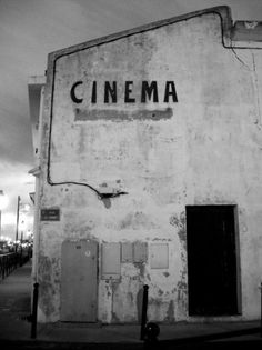 Merde! - Typography #typography #photography #black and white #cinema