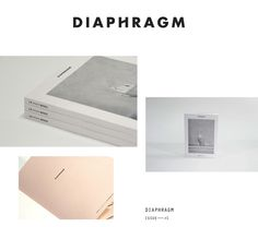 banner Diaphragm #editorial #book