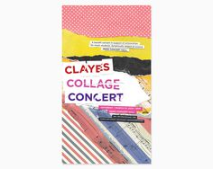 Concert Poster #paper #collage #music #poster