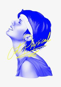 AURELIEN / ARNAUD - Art Direction & Graphic Design #blue #yellow