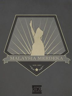 Merdeka and Mouse #malaysia #logo #independent